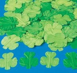Silk Fabric Shamrock Leaves | St Patricks Day