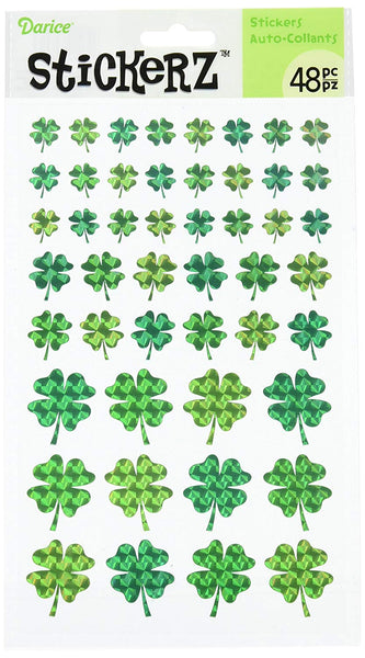 Holographic Shamrock Stickerz Stickers