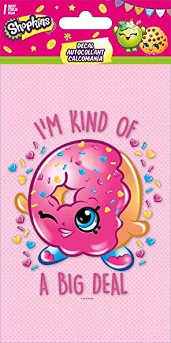 Shopkins Donut D Lish Decal