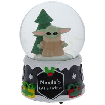 Star Wars Baby Yoda Snow Globe