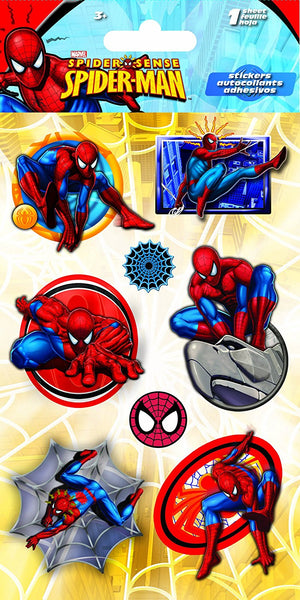 Spider-Man Comic Dimensional Stickers, Stacked