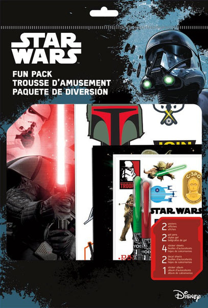 Star Wars  Theme Fun Pack Stickers, Pens, Posters, Decals, Poster