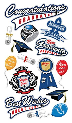Congratulations Grad Sticko Graduation Stickers