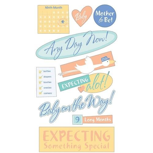 Expecting Mother Pregnancy Stickers by Sticko
