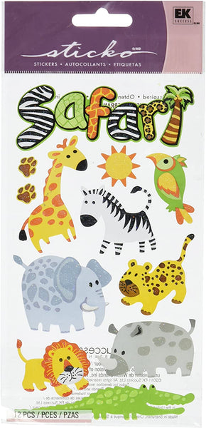 Safari Animal Stickers by Sticko
