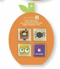 Studio Halloween Stamp Set - Style #5