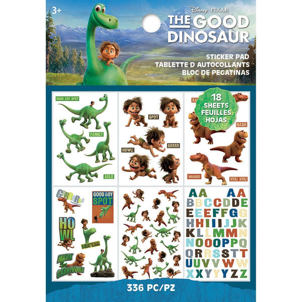 The Good Dinosaur Disney Movie Stickers - 18 Sheets - 516 stickers!