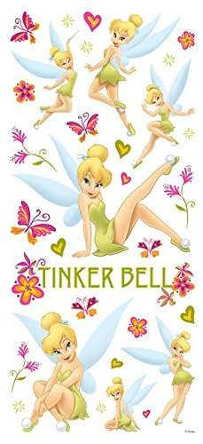 Disney Tinkerbell Glitter Stickers for Scrapbooking