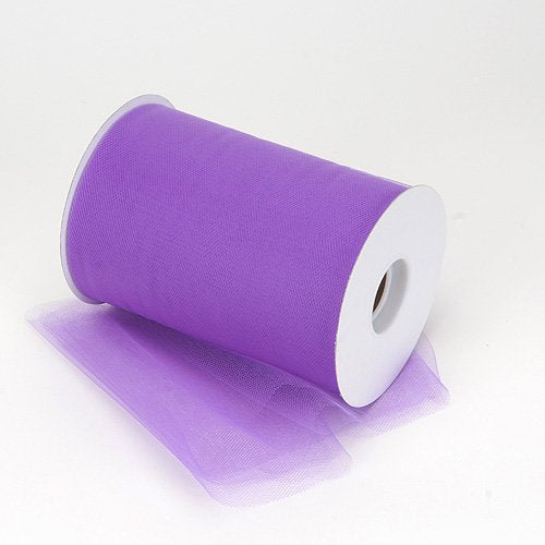 Tulle Spool - 100 Yards - 6-inch Width Lavender