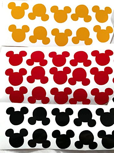 Mickey Mouse Head Vinyl Decal Stickers