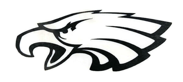 Eagle Decal Vinyl Decal Black 3""