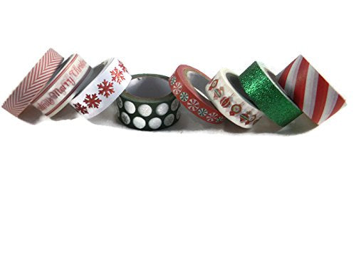 Christmas washi tape assortment set