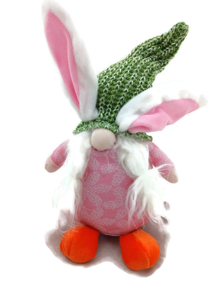 Spring Easter Bunny Whimsy Gnome