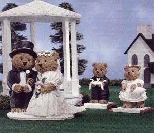 Windsor Bears Dearly Beloved Figurine Set