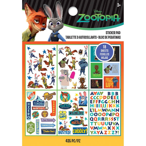 Disney Zootopia Sticker Book