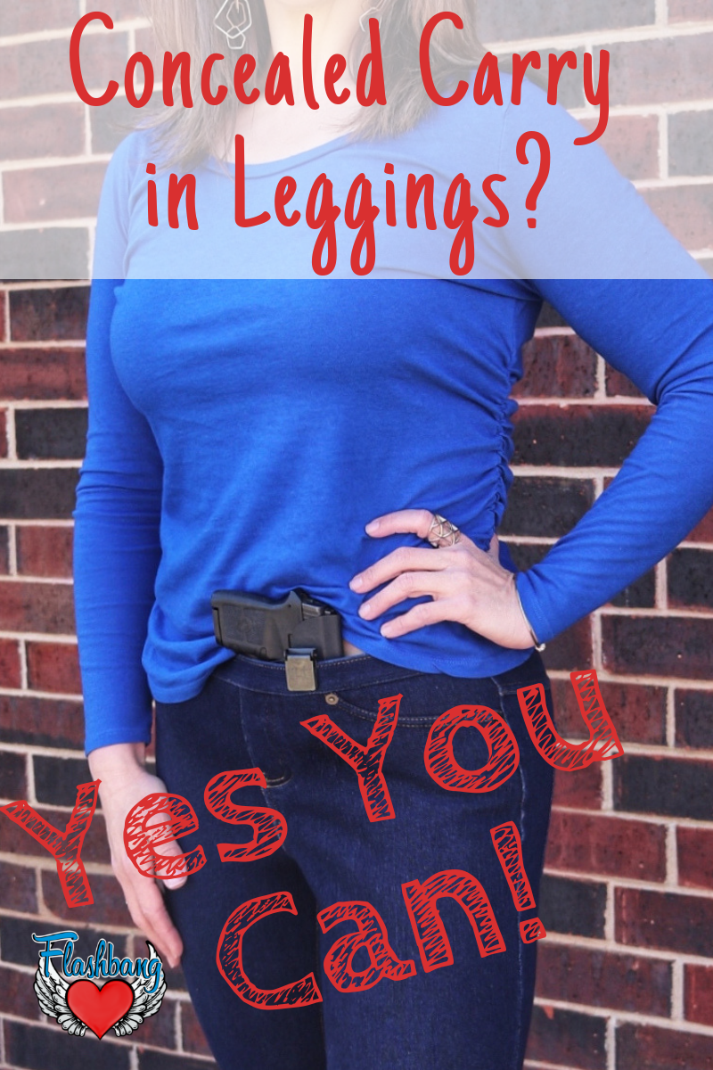 How Do I Carry a Gun in Leggings?