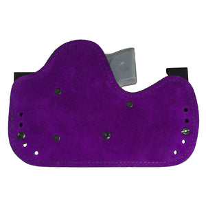 purple suede back on Ava Holster