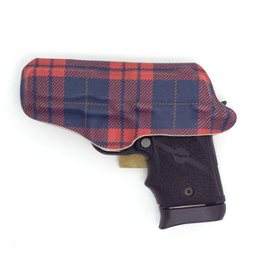 Blue & Red Plaid Flashbang Holster-Flashbang Holsters