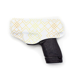 Gold Geo Flashbang Holster-Flashbang Holsters