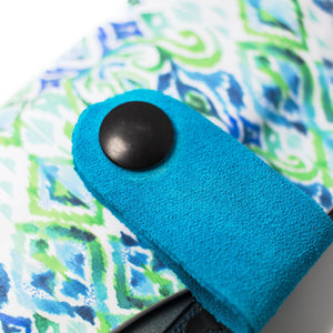 Green & Blue Ikat Flashbang Holster