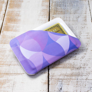 Mod Purple Slimline Wallet