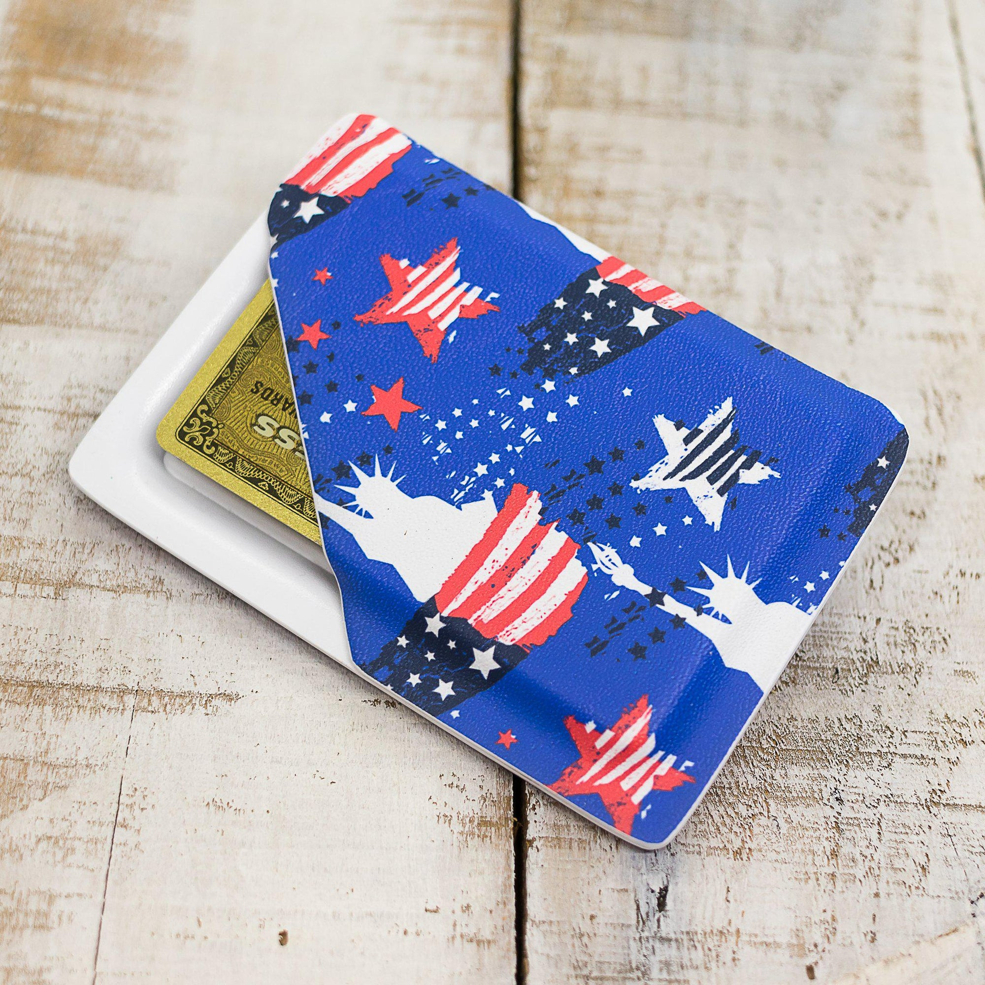 Lady Liberty Slimline Wallet