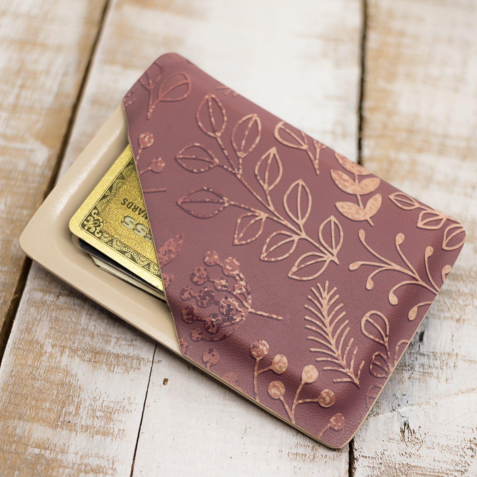 Rose Gold Slimline Wallet