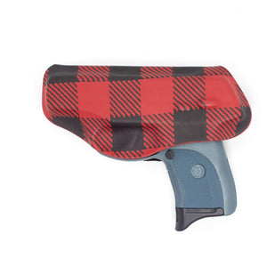 Red Plaid Flashbang Holster-Flashbang Holsters
