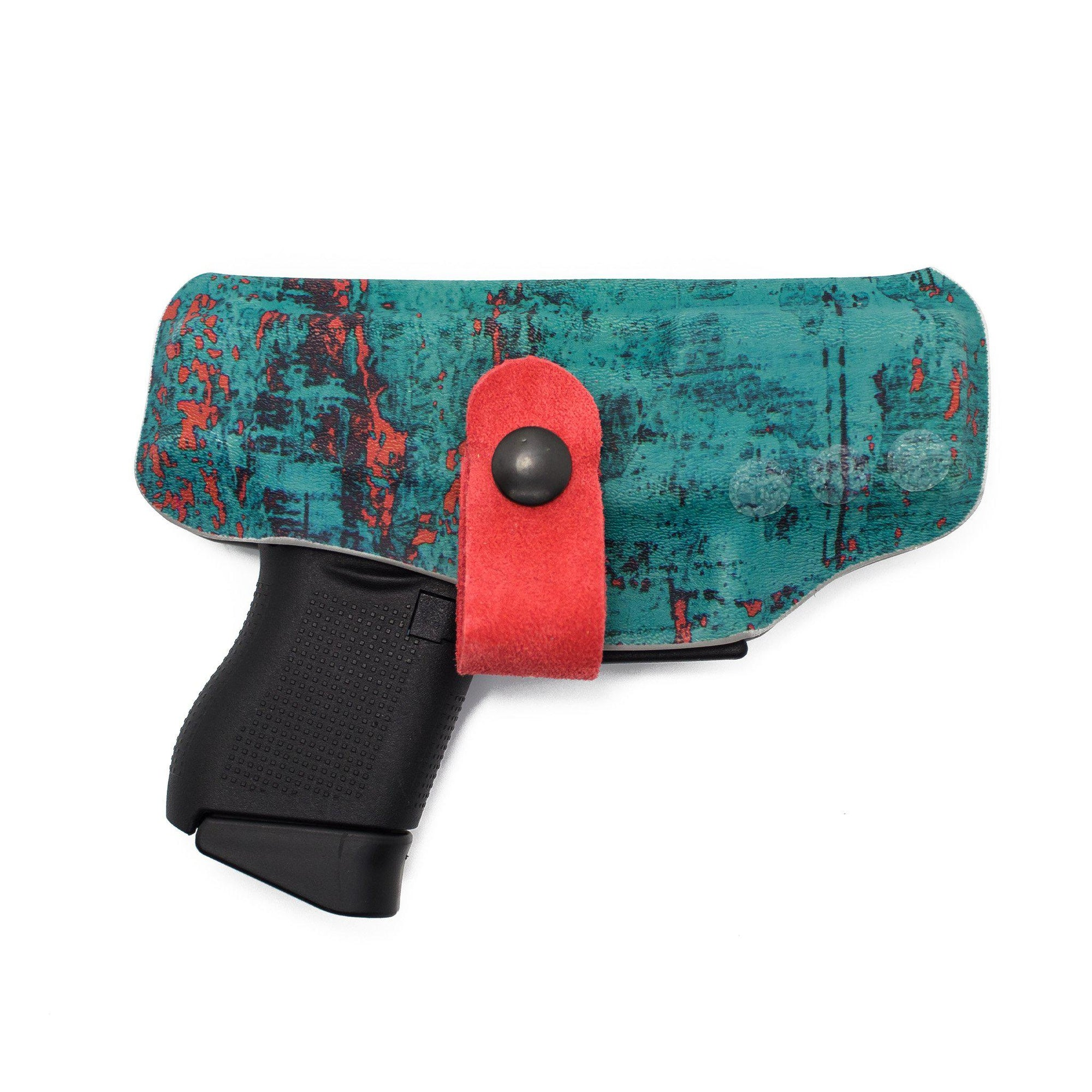 Rustic Turquoise Flashbang Holster