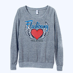Flashbang Logo Lightweight Sweatshirt-Flashbang Holsters