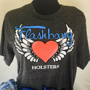 Flashbang Logo T-Shirt-Flashbang Holsters