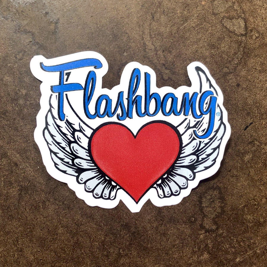 Flashbang Logo Sticker-Flashbang Holsters
