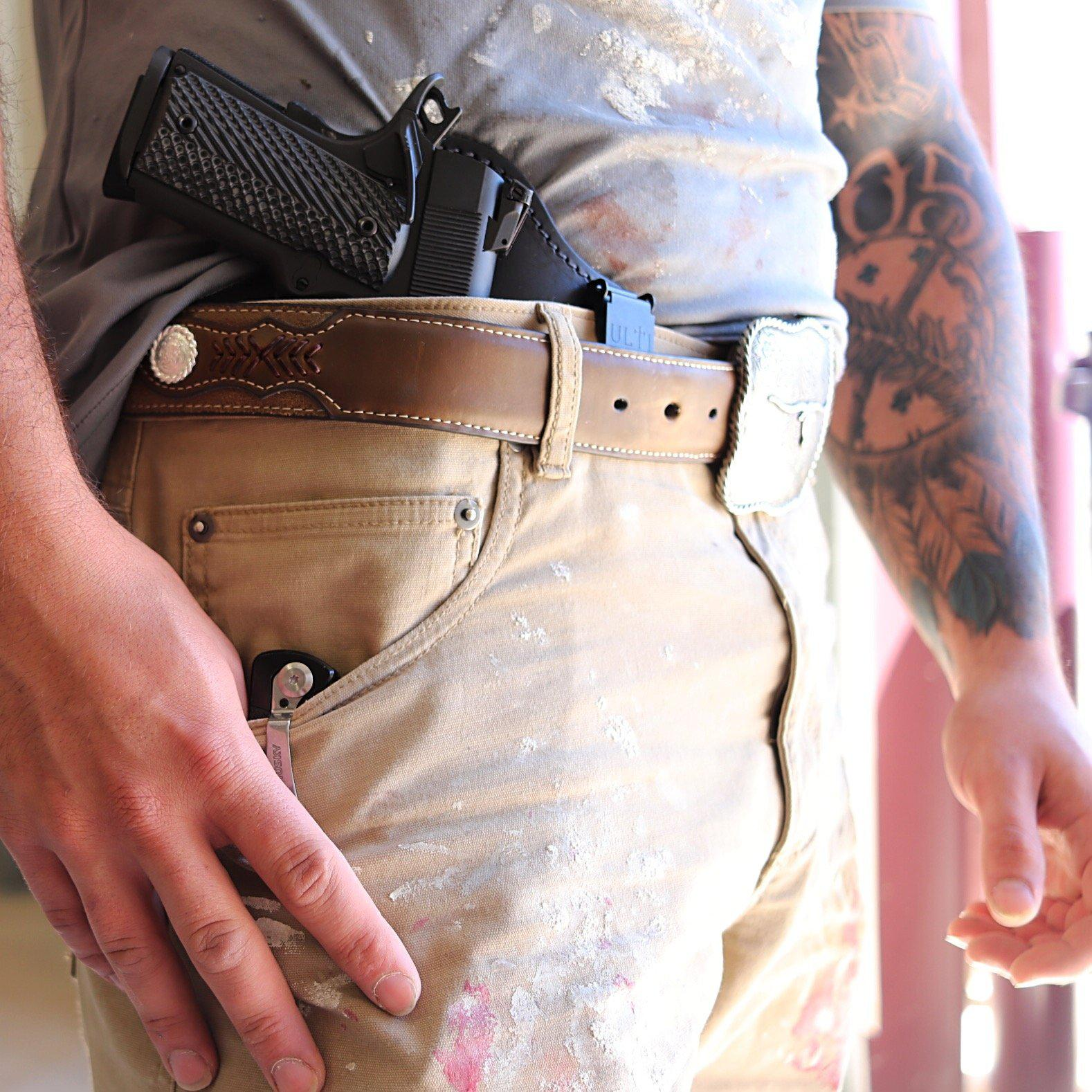 Capone Holster-Flashbang Holsters