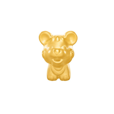 999 Pure Gold Zodiac Friends Rat Charm