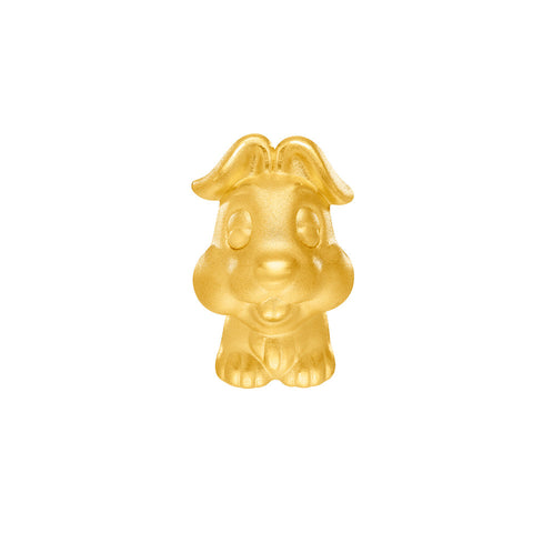 999 Pure Gold Zodiac Friends Rabbit Charm