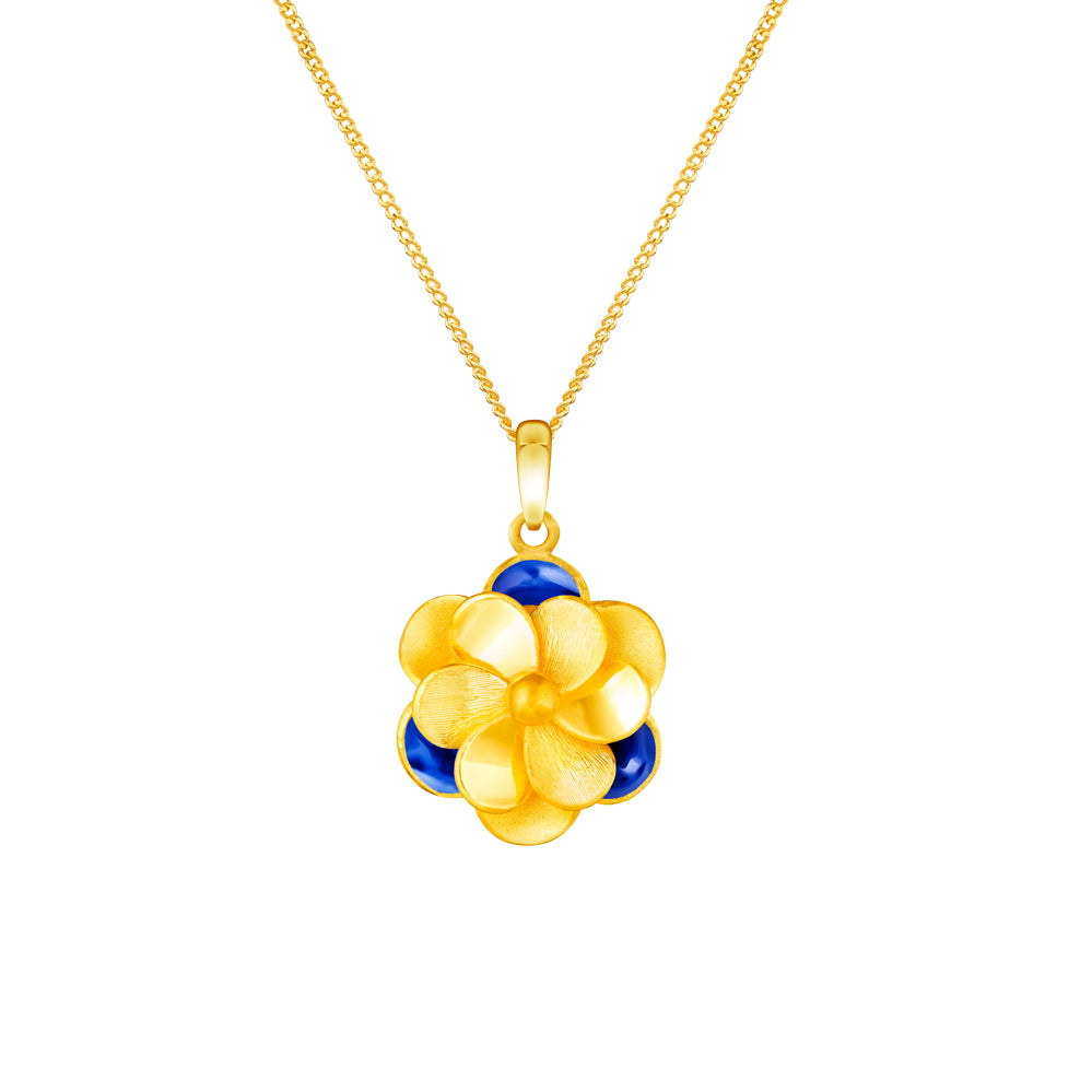 999 pure gold chameleon full bloom swirl floral mood pendant 999 pure gold chameleon full bloom swirl floral mood pendant mozeypictures Image collections