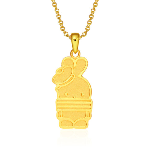 999 Pure Gold Sailor Booto Pendant