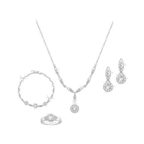Endearing Bond Avoire® Diamonds and White Gold Collection