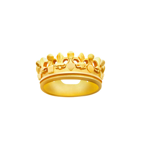 Le Royale Elegance Crown Ring