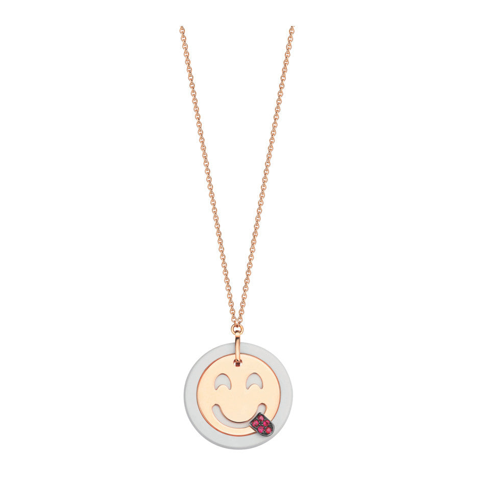 Playful Emo-Gem Necklace