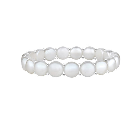 Pure Devotion Pearls Bracelet