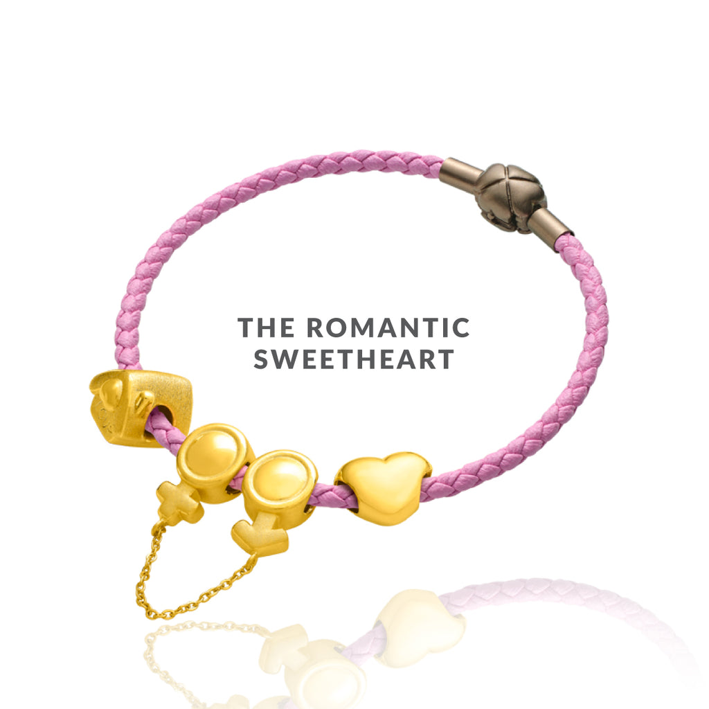 The Romantic Sweetheart Citi-Charms Bracelet