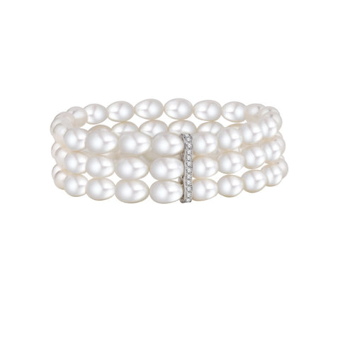 Walks of Life Pearl Bracelet