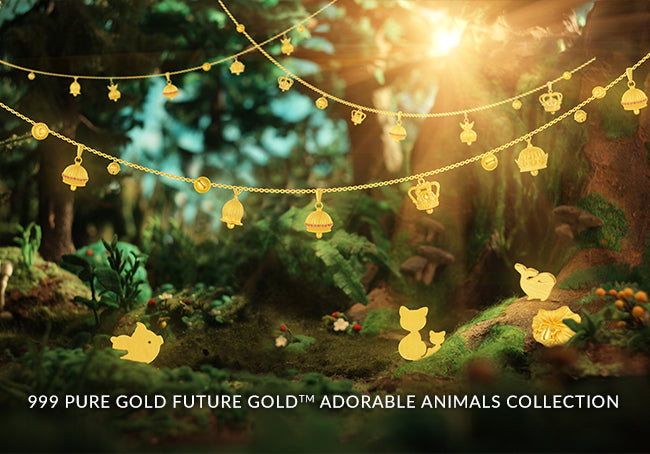 999 Pure Gold Future Gold Adorable Animals Collection
