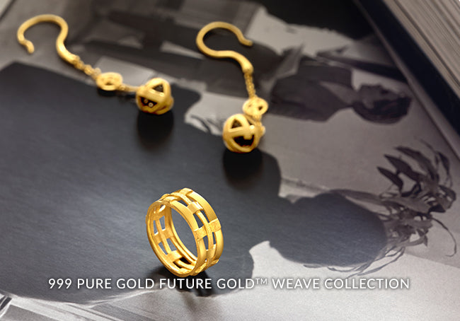 999 PURE GOLD FUTURE GOLD WEAVE COLLECTION