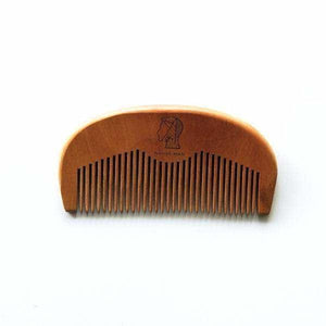 Native Man Grooming Essentials Wooden beard & hair pocket comb natural skincare mens grooming