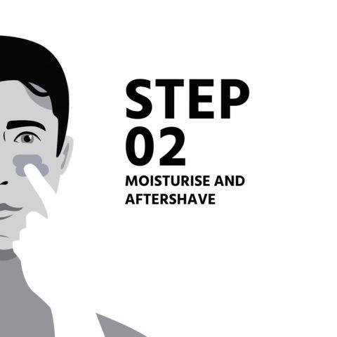 Simple routine for men's skincare step 2 Native Man