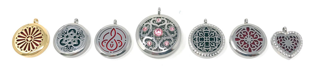 incanted diffsuer pendants of empowerment jewelry collection