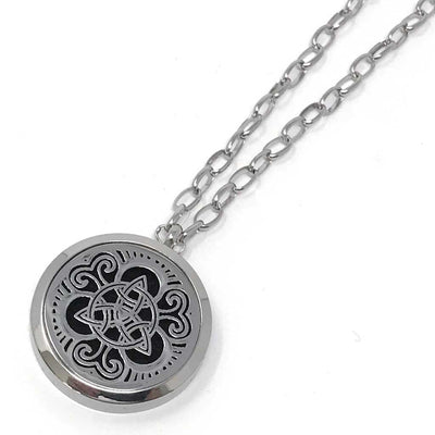 Guardian Diffuser with chain link necklace chain