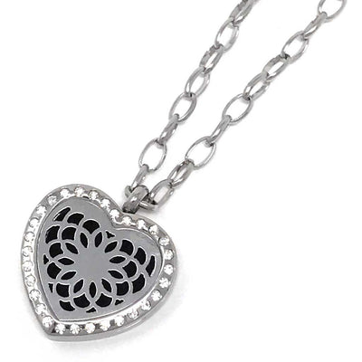 Passion Diffuser necklace with chain link chain